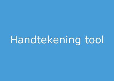 Handtekening Tool