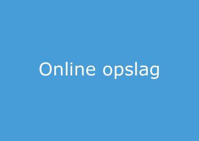 Online Opslag