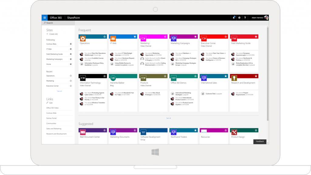 5 voordelen van Microsoft SharePoint Online