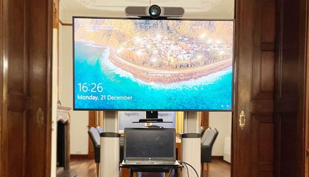 videovergadering